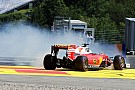 Un problema en el repartidor de frenada causó el trompo de Vettel