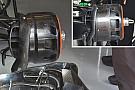 Breve análisis técnico: Tambor del freno del McLaren MP4-31