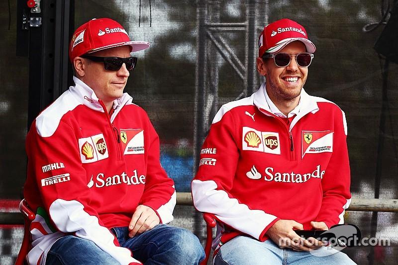 Феттель поддержал решение Ferrari продлить контракт с Райкконеном