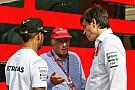Wolff da por cerrada la polémica de las palabras de Lauda