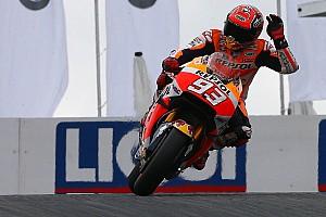 MotoGP Kwalificatieverslag Marquez weer op pole in Duitsland, Lorenzo crasht tweemaal