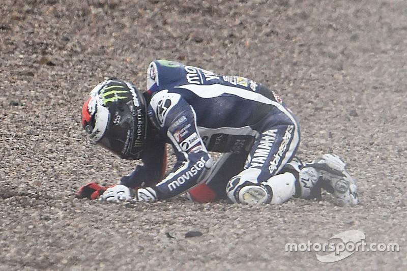 Lorenzo gelooft nog in eigen kansen na crashes op de Sachsenring