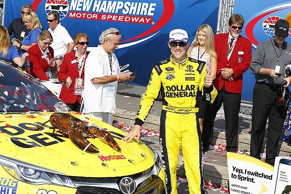 NASCAR Sprint Cup Kenseth aparece al final y gana en New Hampshire