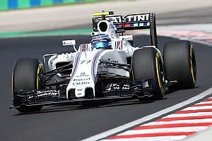Формула 1 Новость Боттас испытывает новое днище Williams в третьей тренировке