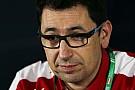 Binotto, il motorista che è diventato direttore tecnico della Ferrari