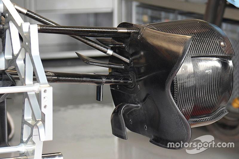 Tech update: Toro Rosso experimenteert verder met innovatieve brake duct