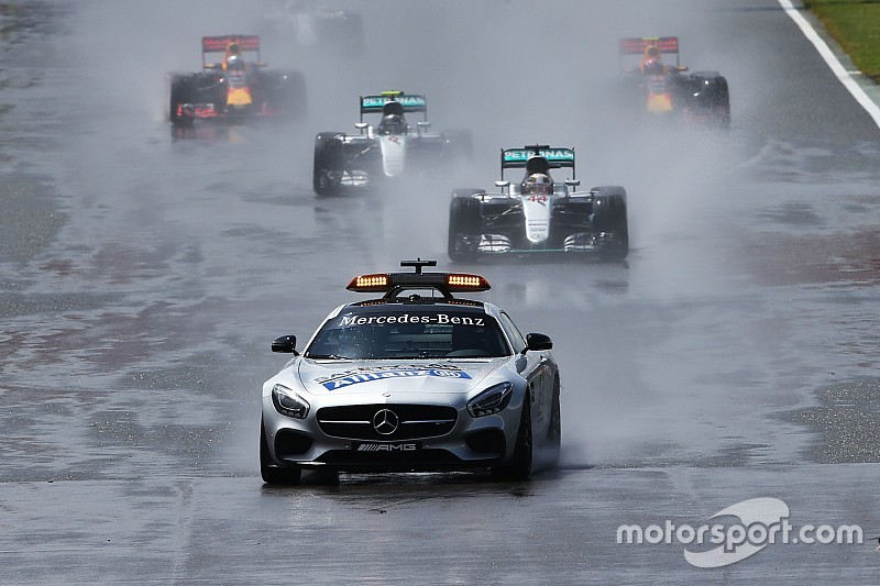 Ab sofort: Stehender Start im Nassen nach Safety-Car-Phase