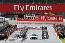 La F1 tendrá largadas detenidas con pista mojada