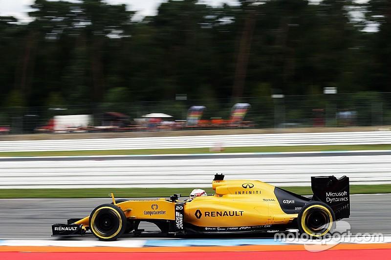 """Whiting confirma los """"tres avisos"""" en la curva 1 de Hockenheim"""
