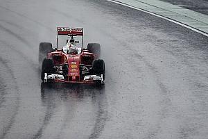 F1 Noticias de última hora Vettel será el primero en probar los Pirelli de lluvia más anchos de 2017