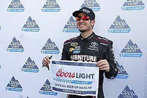 NASCAR Cup Relato de classificação Martin Truex Jr. conquista pole em Pocono