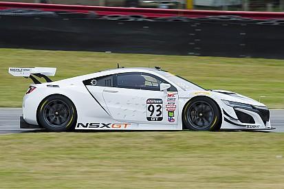 NSX GT3が公式走行。カニンガムがPWC出走を止め、開発に専念