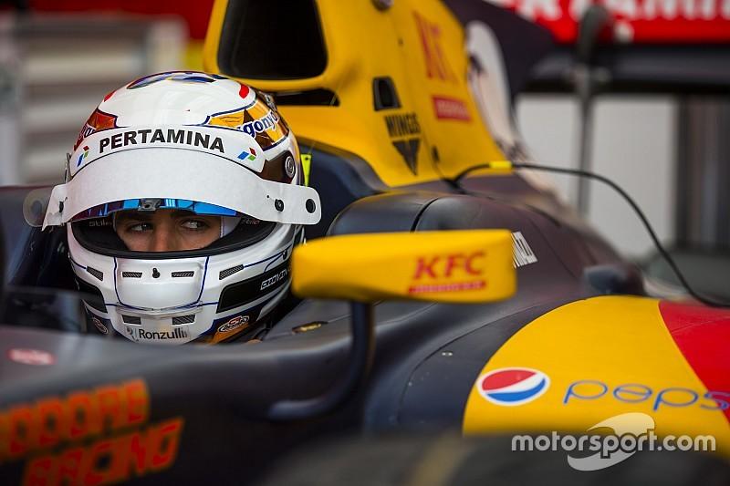 Giovinazzi excluido de la clasificación de GP2