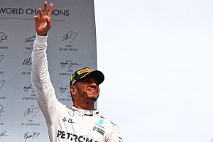 Formel 1 News Lewis Hamilton: Dank ans Team für gute Starts