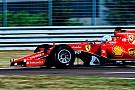 Test Pirelli a Fiorano: Vettel gira con la SF15-T XL sul bagnato