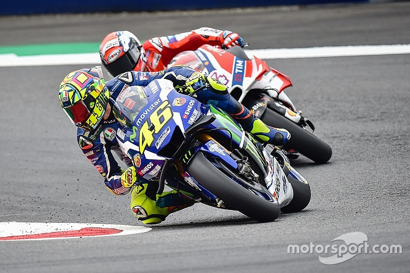 """Valentino Rossi: """"Nicht nur mit Aussicht auf Platz drei ins Rennen gehen"""""""