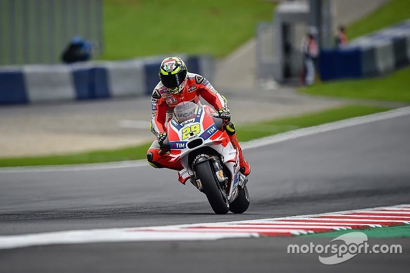 MotoGPオーストリアFP3:イアンノーネが首位。マルケス病院へ