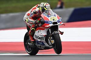 MotoGP Qualifiche Iannone, Rossi e Dovi: strepitosa tripletta nelle Qualifiche del GP d'Austria!