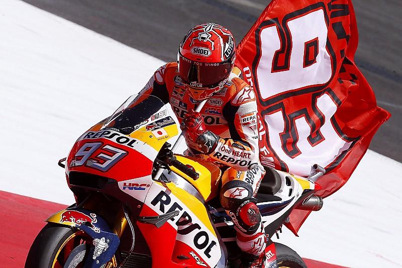 """Marquez: """"Dankzij sterke Ducati's niet veel verloren"""""""