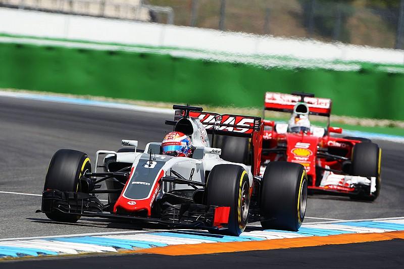 Grosjean a favor de un cambio en las reglas de banderas azules