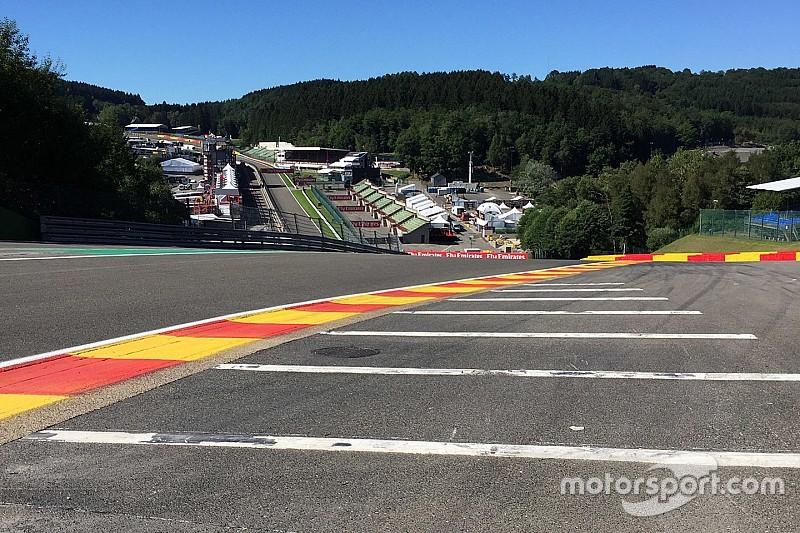 Formel 1 in Spa: Randsteine in der Eau Rouge bleiben unverändert