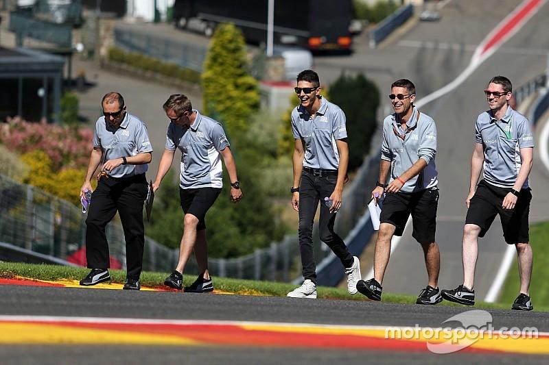 """Ocon: """"Spa de perfecte plek voor mijn eerste Formule 1-race"""""""