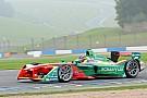 Abt snelste tijdens natte derde Formule E-testdag