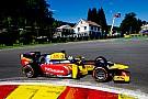 Giovinazzi lidera un podio completo de debutantes