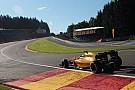 GP België stilgelegd na zware crash van Magnussen in Raidillon