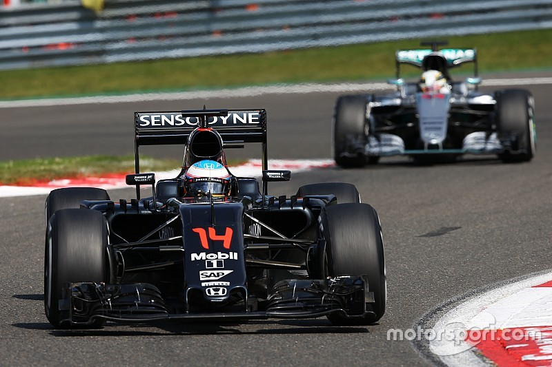 """Alonso: """"Zevende plaats was een paar races geleden nog ondenkbaar"""""""
