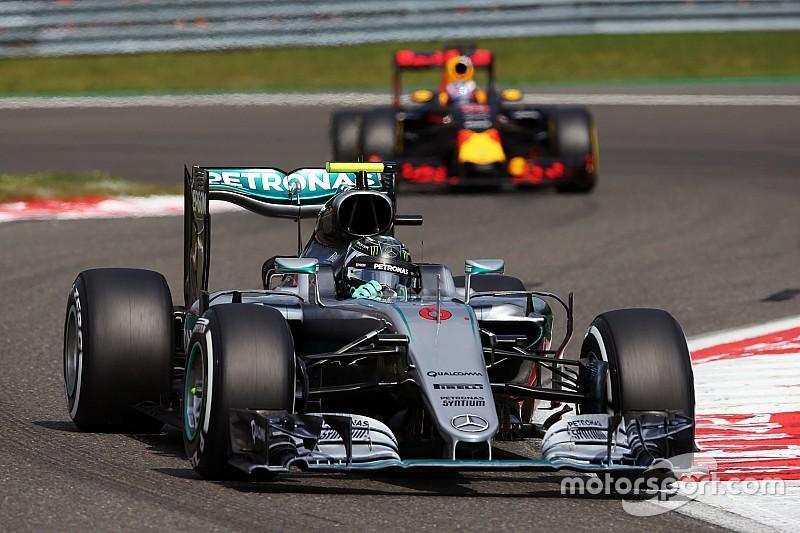 Rosberg had Hamiltons opmars niet in de gaten