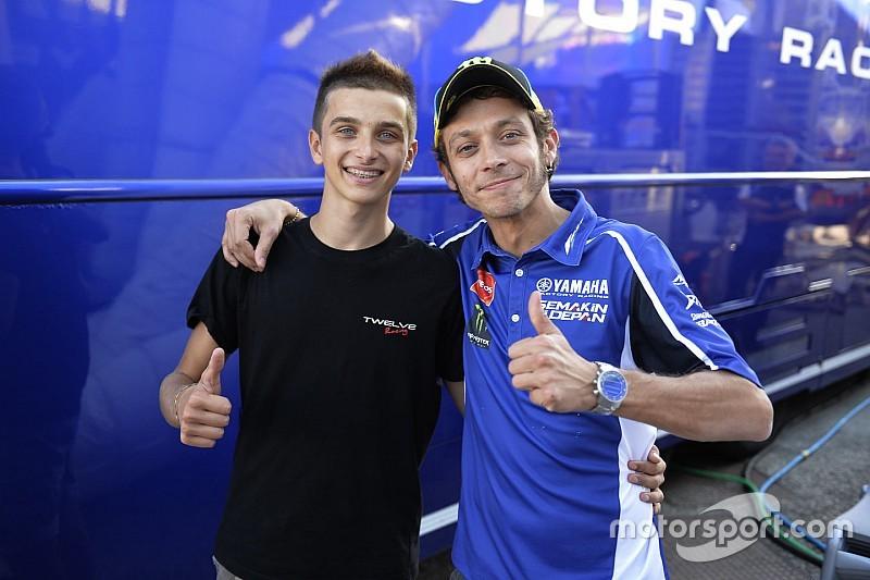 """Luca Marini: """"Menjadi adik tiri Valentino sangat membantu saya"""""""