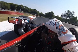 IndyCar BRÉKING IndyCar: újabb szenzációs belsőkamerás felvétel az amerikai sorozatból