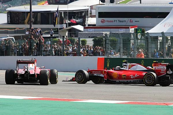 Vettel, Spa'daki kaza nedeniyle Raikkonen'den özür diledi