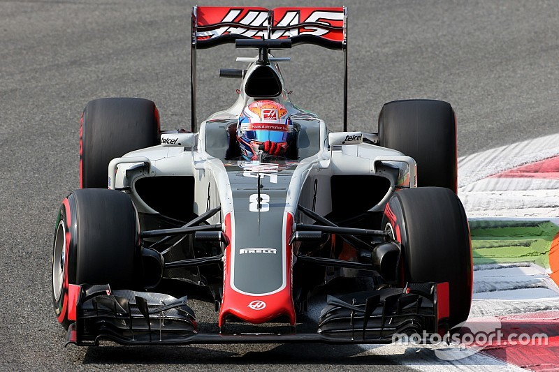 Gridstraf Grosjean na versnellingsbakwissel