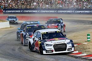 World Rallycross Yarış ayak raporu Fransa WRX: Ekström ilk günün sonunda lider