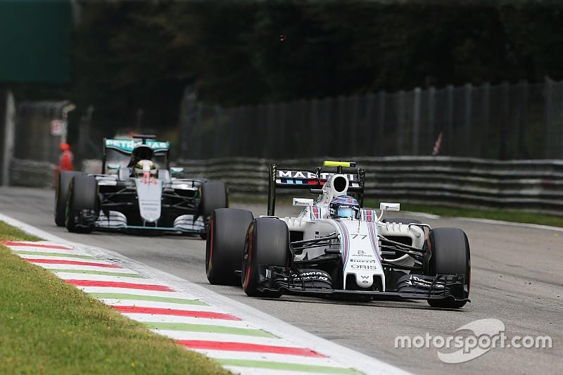 Williams satisfecho de sobrepasar a Force India