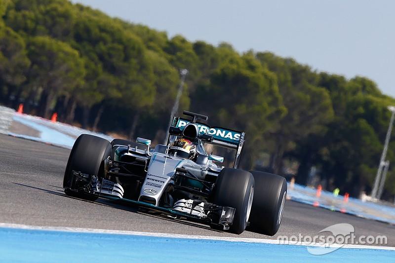 Mercedes testet Pirelli-Breitreifen für Formel-1-Saison 2017