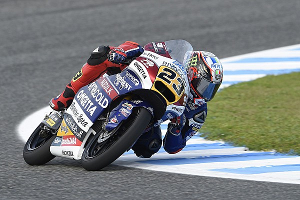 Moto3 Le Mans: Antonelli pole position, Binder start kedua