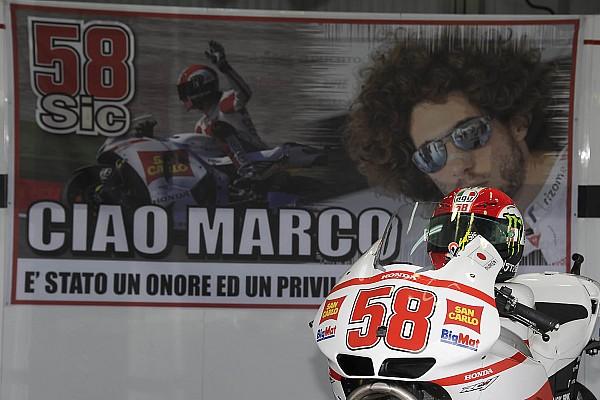 MotoGP organizatörleri Simoncelli'nin 58 numarasını emekliye ayırdı
