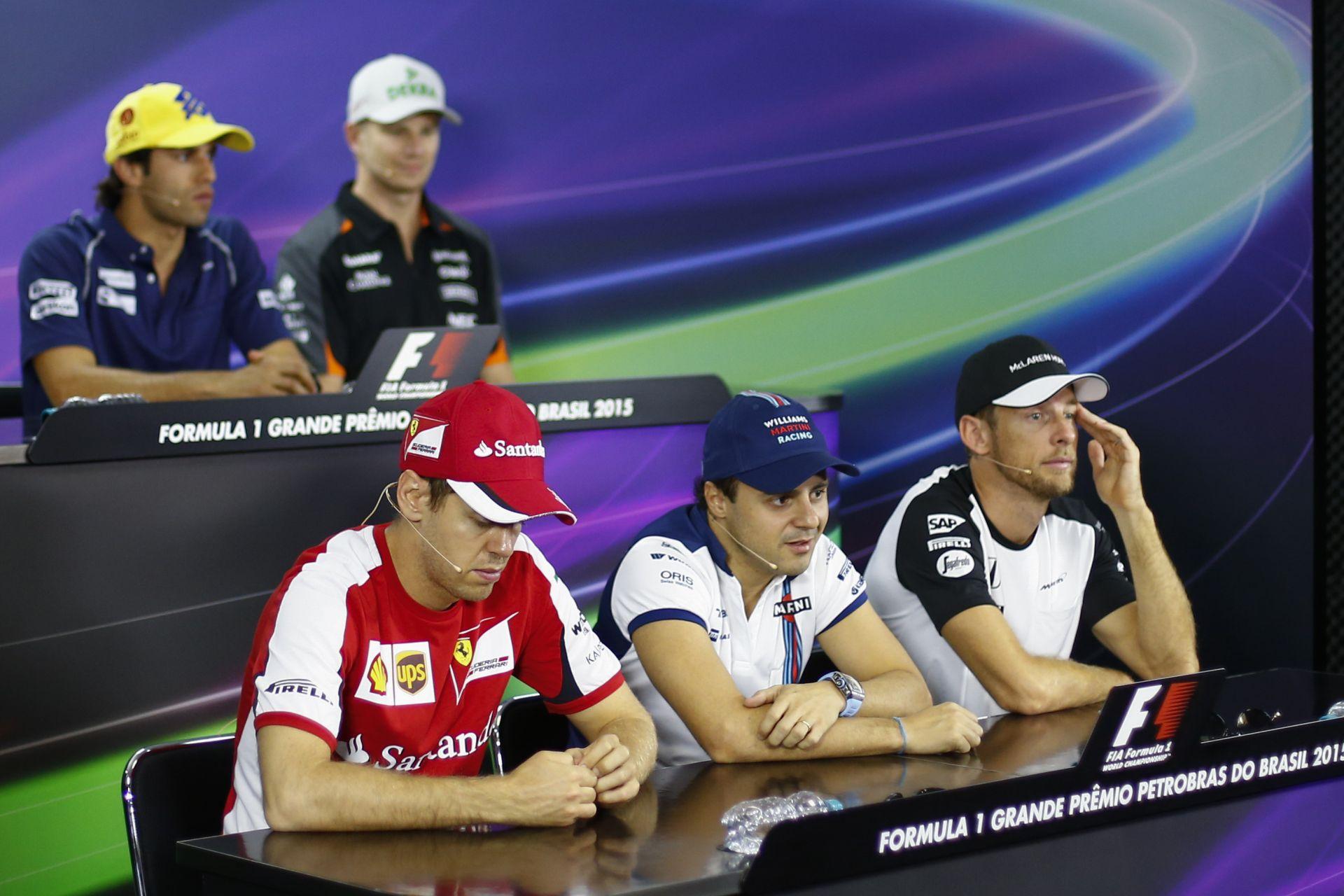 Micsoda hangulat az F1-es magángépen?! Massa, Rosberg, Button…