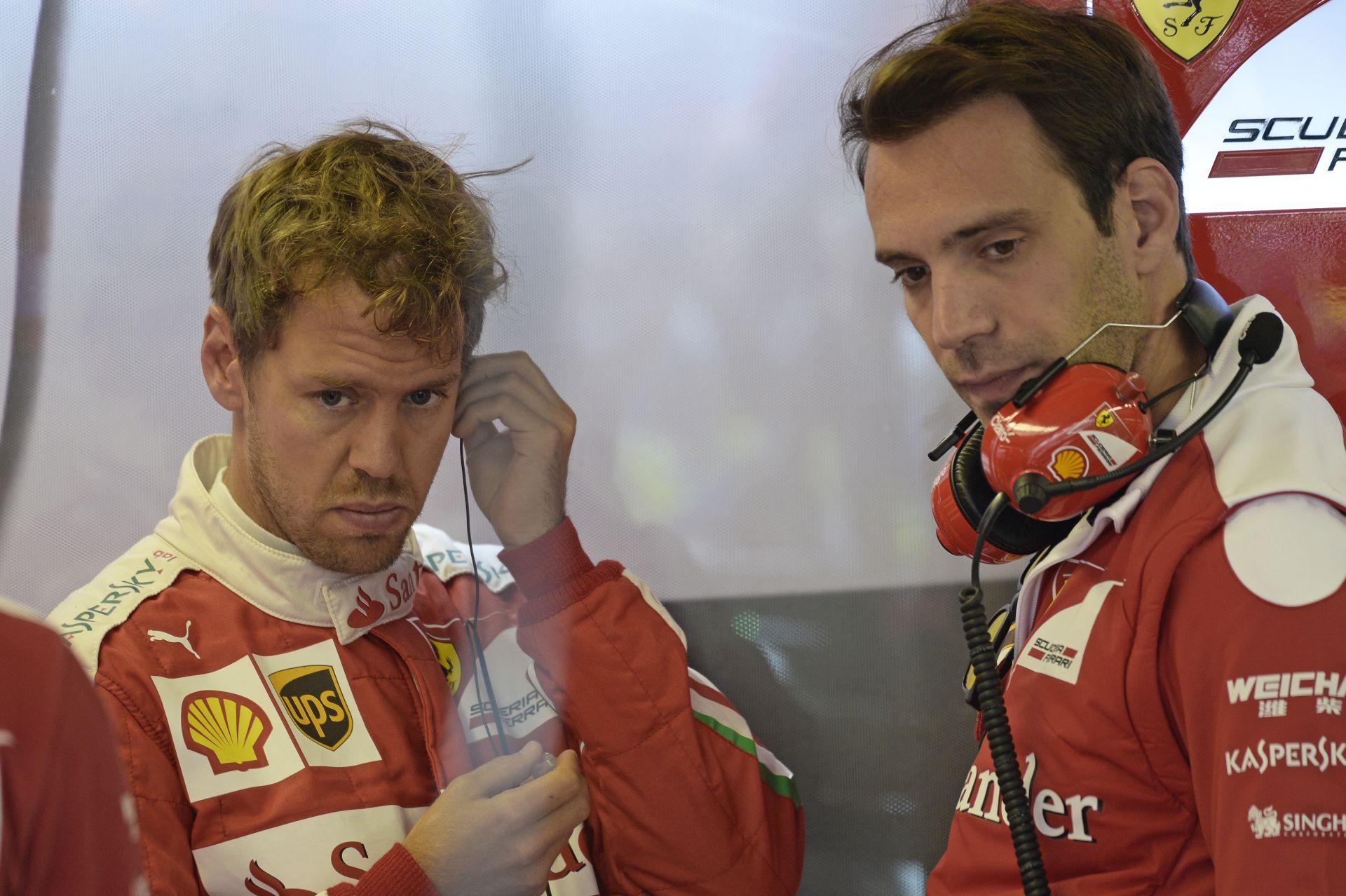 Egy kép, aminek Vettel jobban örült volna, ha nem kerül nyilvánosságra...