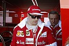 A csodálatos Minttu és Raikkönen a Ferrari garázsában