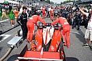 La Ferrari a Singapore per non giocare in difesa