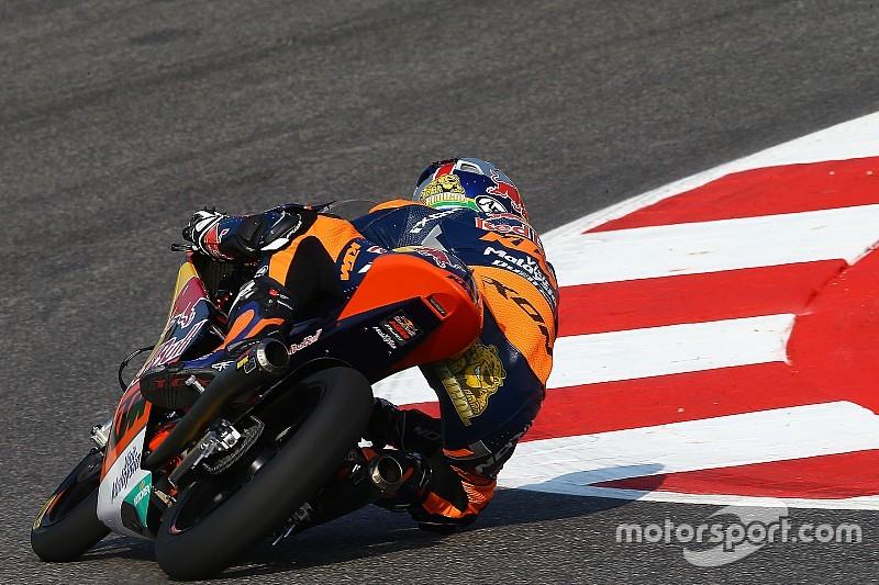 Binder op pole-position bij  Grand Prix van San Marino