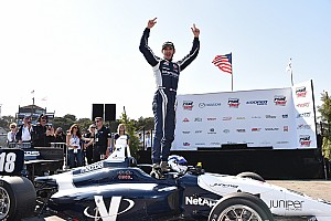 Indy Lights Reporte de la carrera Kaiser gana fácilmente, Jones toma liderato de Indy Lights