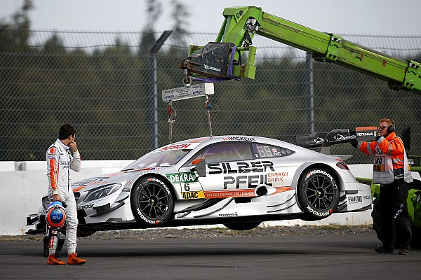Dämpfer für Mercedes am Nürburgring: