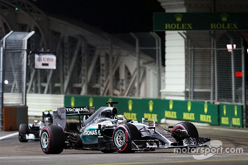 В Mercedes скептически оценивают шансы на победу в Сингапуре