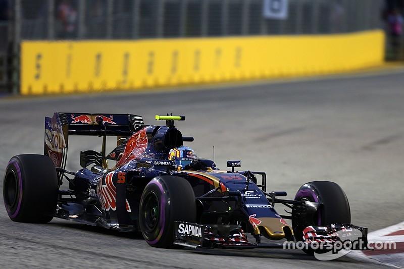 Sainz en Kvyat blijven updates Toro Rosso evalueren