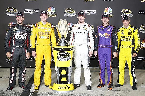 NASCAR Cup Qualifiche cancellate per pioggia: Kyle Busch inizia la Chase dalla pole